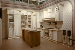 Kitchen cabinet with a low price,provide a range of customized kitchen