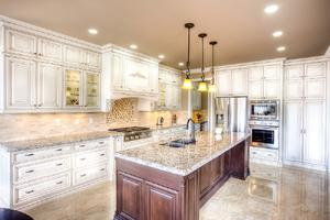 White kitchen cabinets with a low price,provide a range of customized kitchen