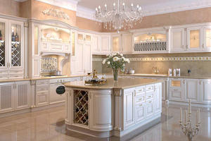 Kitchen cabinet design with a low price,provide a range of customized kitchen