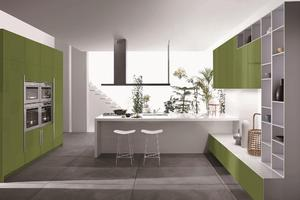 Modern kitchen cabinets with a low price,provide a range of customized kitchen