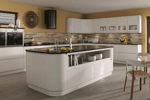 Contemporary kitchen with a low price,provide a range of customized kitchen