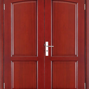 china External wooden doors,solid wood door, preferred BuilDec