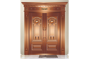 high quality Interior double doors,Copper Door, preferred BuilDec, experienced