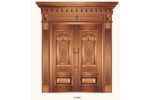 custom-made china Big entry doors,Copper Door, preferred BuilDec, experienced