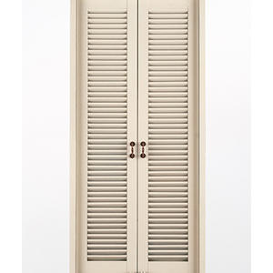 fashion louver door, solid wood door, preferred BuilDec