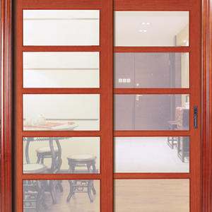 low price sliding french doors, solid wood door, preferred BuilDec