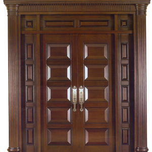 low price large entrance door, solid wood door, preferred BuilDec