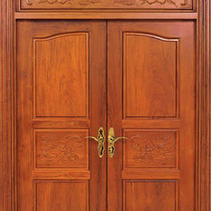 exterior double doors, solid wood door, preferred BuilDec