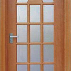 wholesale interior french patio doors, semi-solid wood door, preferred BuilDec