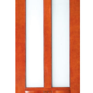 high quality porch door and frame, semi-solid wood door, preferred BuilDec
