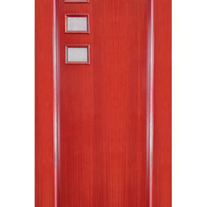 high quality garage door, semi-solid wood door
