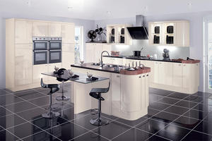 fashion hdf kitchen with a low price, manufactures