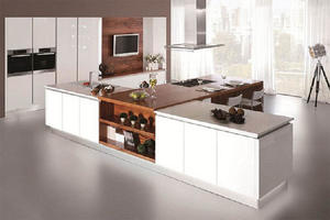 custom-made kitchen showroom with a low price,manufactures