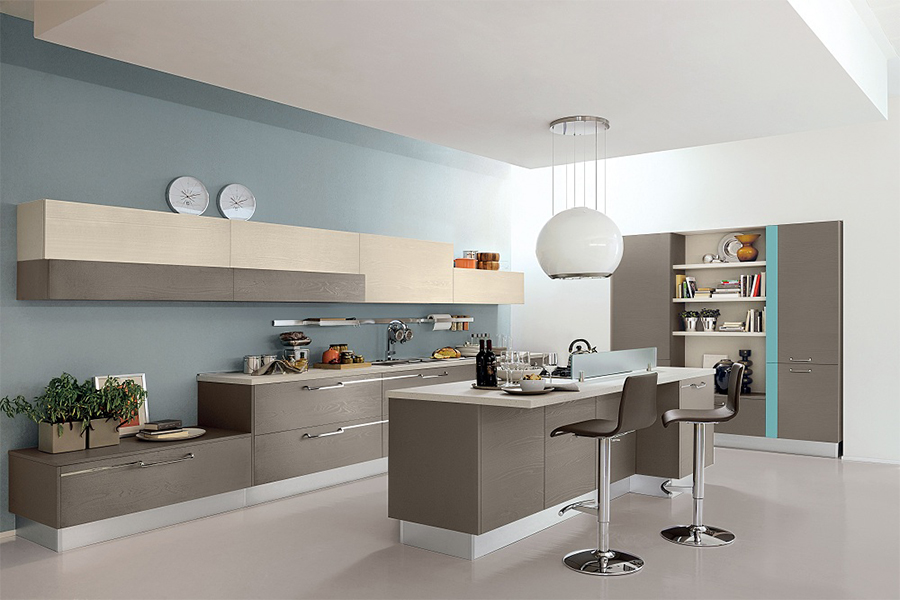 Melamine Kitchen - KITCHEN 049