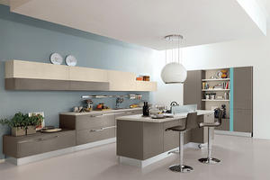 high quality melamine kitchen with a low price