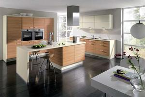 home kitchen with a low price,provide a range of customized kitchen.
