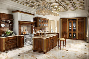 luxury kitchen with a low price,provide a range of customized kitchen.
