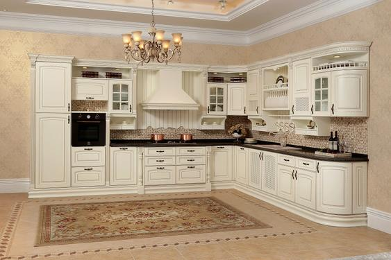 Solid Wood Kitchen - KITCHEN 25