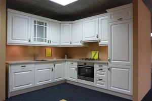 pvc kitchen cabinet with a low price,provide a range of customized kitchen.