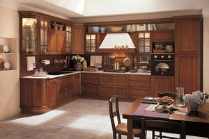 glass kitchen with a low price,provide a range of customized kitchen.