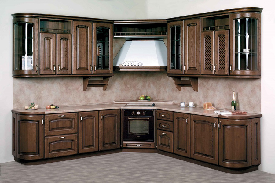 Corner Kitchen Cabinet - KITCHEN 43