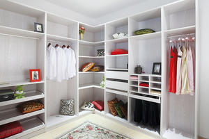 high quality walk-in closet, wardrobe wholesale, wardrobe customization