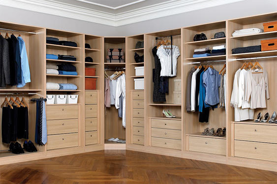 Corner Wardrobe-WALK-IN CLOSET  16