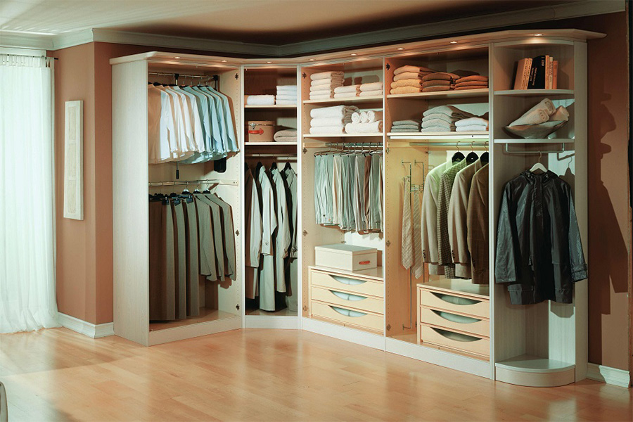 Melamine Wardrobe-WALK-IN CLOSET  17