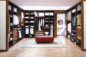 Solid Wood Bedroom Furniture - Walkin Closet 12