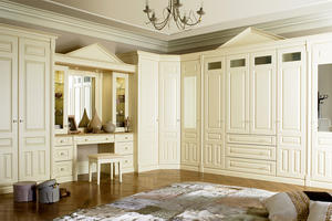 Solid Wood Bedroom Furniture - Walkin Closet 14