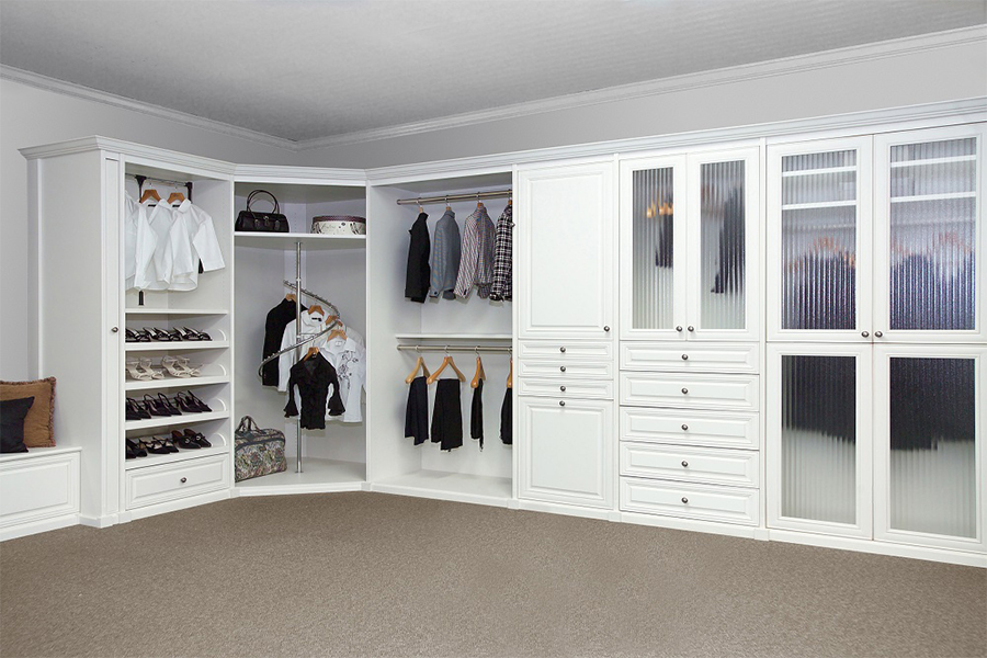 Solid Wood Bedroom Furniture - Walkin Closet 15