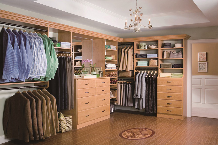 Wardrobe with Drawers - Walkin Closet 17