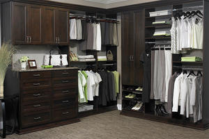 Wardrobe With Drawers - Walkin Closet 18