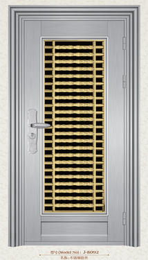 Stainless Steel Door-J-8092