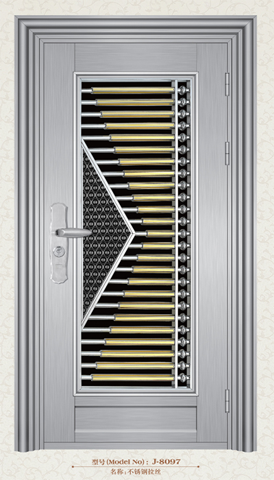Stainless Steel Door-J-8097