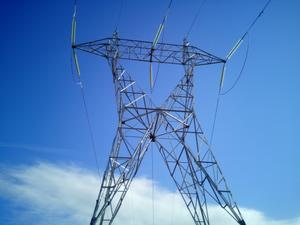 power distribution, China distribution tower, galvanized lattice steel tower supplier