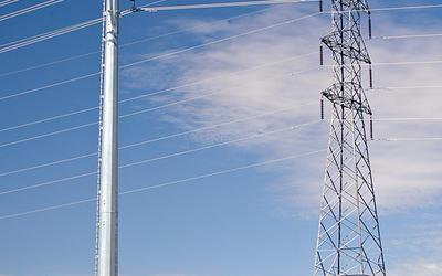 Power Pole, High Voltage Power Transmission Utility Pole (10kv-750kv)