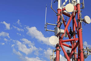 Telecom GSM Square Tower, Self Supporting Telecom lattice tower ,