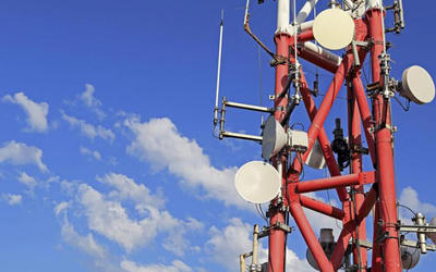 Telecom GSM Square Tower, Self Supporting Telecom gittertorn,