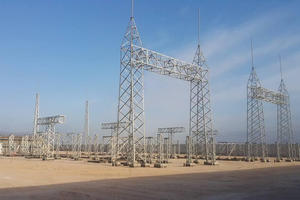 China Power Plant Structure,Switchyard steel structure ,power plant gantry structure manufacturer