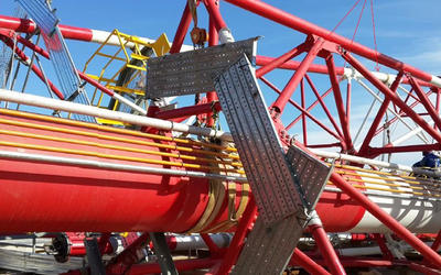 Flare Tower Derrick Structure