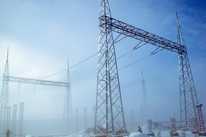 China Substation Gantry, substation steel support, Substation Section Supports factory