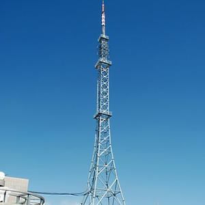 China Angular and Tubular Steel TV Tower, Self Supporting Telecom TV Tower factory