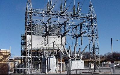 Outdoor Electrical Substation Structures