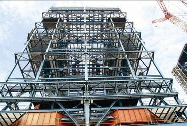 Petrochemical and Power Plant Steel Structure Supplier