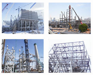 Acid Gas and Dust Removal System Steel Structure,