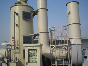 China FRP Industrial Waste Gas Purification Tower factory