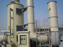 FRP Industrial Waste Gas Purification Tower