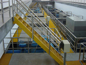 China FRP grating walkway factory