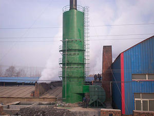 FRP smoking desulfurization tower
